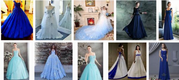 Dusty Blue Wedding Dress-How To Choose A Blue Wedding Dress For The Wedding?