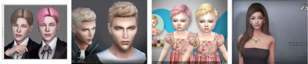 The Hottest Hairstyles For Sims 2 * 2021 New