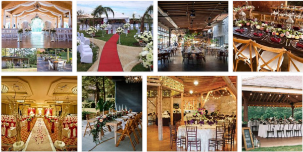 Wedding Venues Near Me – The United States 2021
