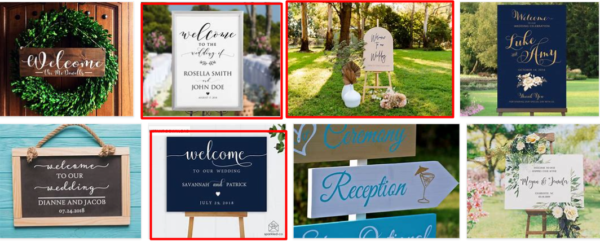 Wedding Welcome Sign Creating ***2021 New Post
