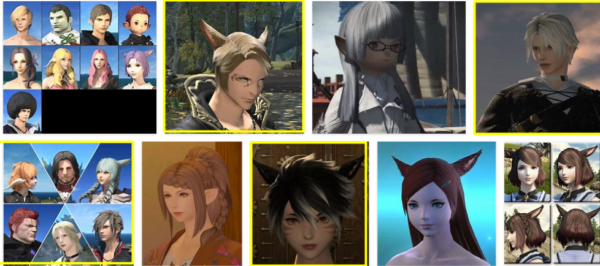 FFXIV Hairstyles – 5 Suggestions +++ * 2021