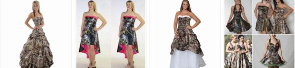 Camo Wedding Dress * 2021