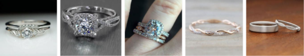 Simple Wedding Ring İdeas * 2021
