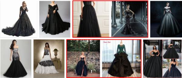 Black Wedding Dresses to Highlight Your Wedding Attire *2021