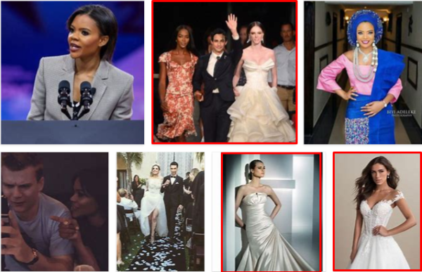 Candace Owens Wedding Gowns – 2021